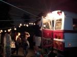 Hosting your event inside the DHMakerBus. Here we are hosting LOMAA at Nuit Blanche