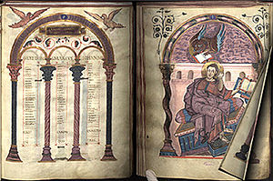 An early book, the Codex Aureus