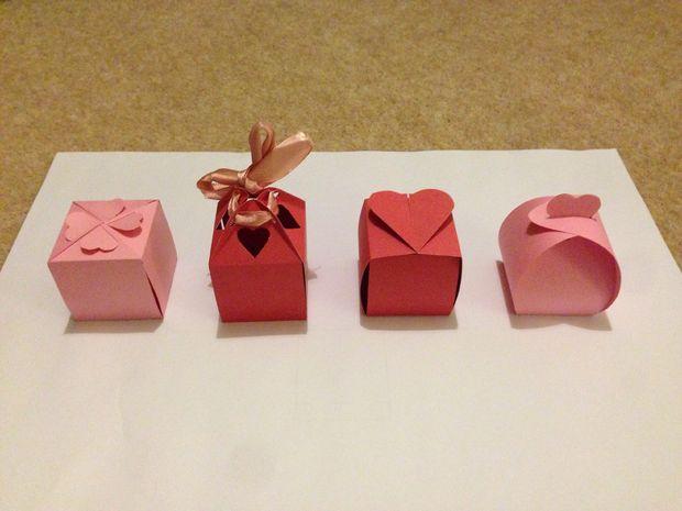 Как украсить коробку на день святого валентина своими руками