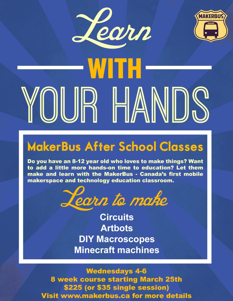 MakerBus After School Poster 1